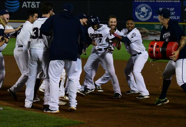 Greg Golson Delivers a Walk off in Patriots 5-4 Win over York