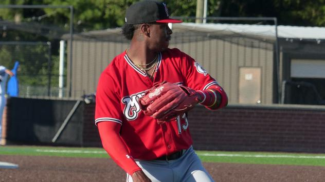 Monte Harrison Named Carolina League Player of the Week