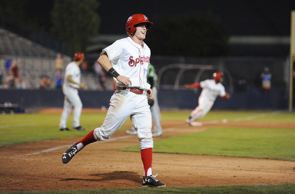Ratliff Hits Spokane's 4th Walk-Off to Take Series