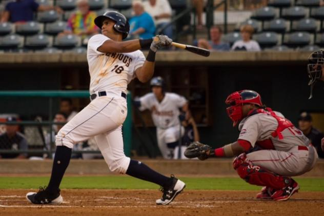 Garcia and Sensley Combine to Drive in Six as the RiverDogs Cruise Past Greenville in Finale
