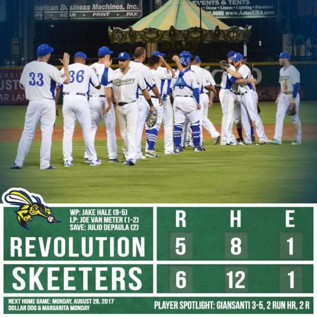Sugar Land Ends York Series with 6-5 Win