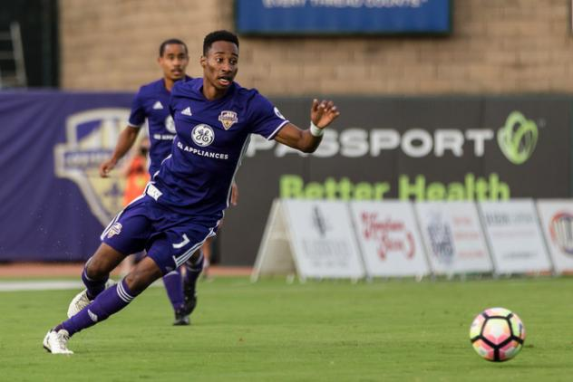 LouCity's Kaye Named to USL Team of the Week After Standout Performance