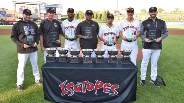 NEWS 2017 Isotopes Players Choice Awards