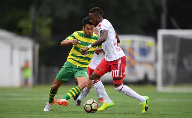 Tampa Bay Rowdies Open Road Trip with 4-2 Loss to New York