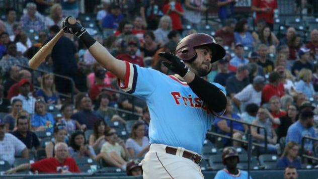 Aguilera's Walk-Off Single Lifts Riders to 2-1 Win in 11 Innings