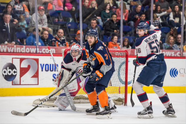 Colella Records Three-Points as Firebirds Fall to Spirit Wednesday Night