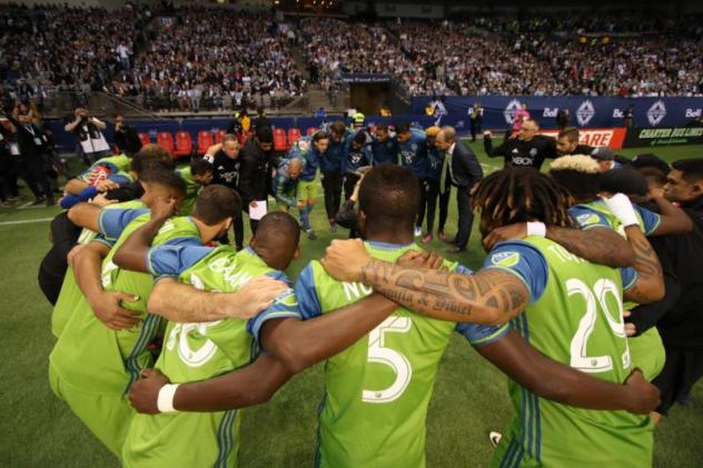 Sounders FC vs. Vancouver Whitecaps FC - Western Conference Semifinals - November 2, 2017
