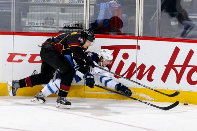 Moose Trample Monsters in Winnipeg, 7-1