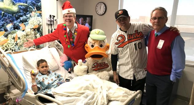 Smiles Abound as Ducks Spread Holiday Cheer