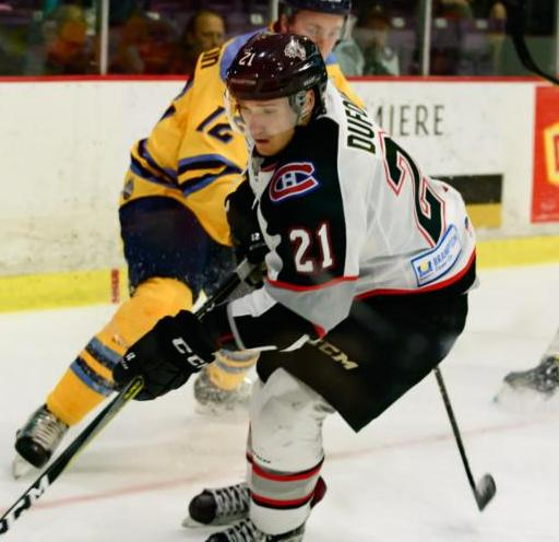 Thunder Acquires Dufour from Brampton