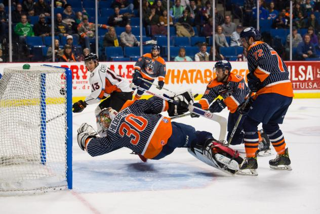 Mavericks Come Back Three Times to Finish off Oilers
