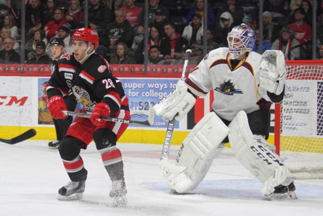 Monsters Fall to Griffins, 5-2