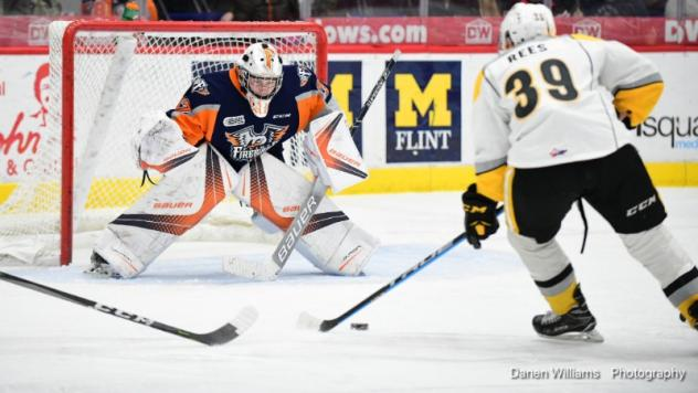 Firebirds Stymied by Sarnia Wednesday Night