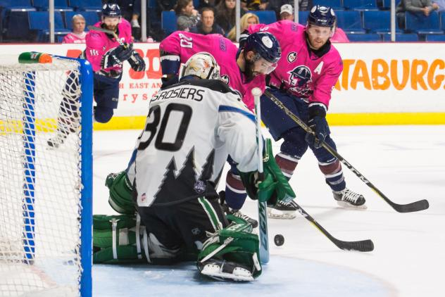 Oilers' Comeback Too Little, Too Late on Pink Night