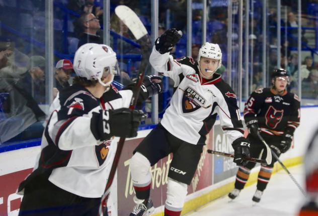 Giants Wrap up January with a 4-1 Home Victory against Calgary