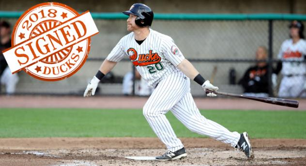 Long Island Ducks Outfielder Lew Ford