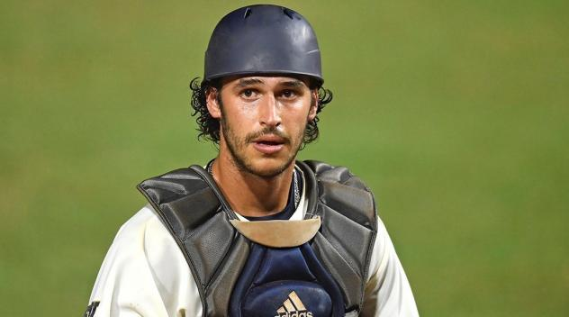 Florida International University Catcher Javier Valdes
