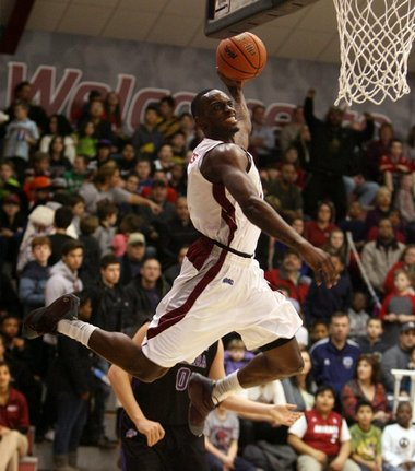 SG/SF Anthony Myles Skies for a Dunk