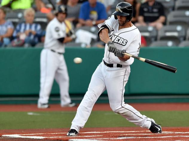 Infielder Craig Massey with the Southern Illinois Miners