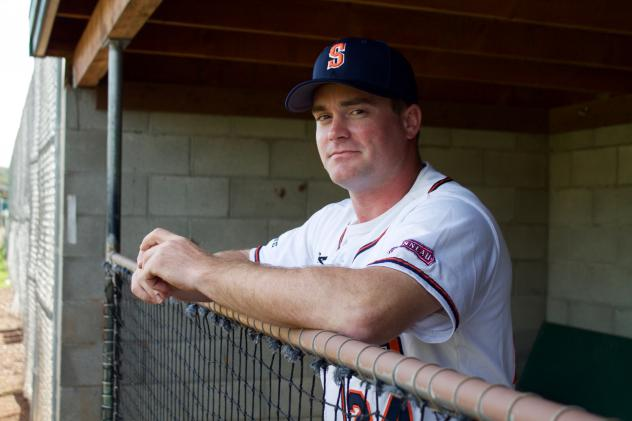 Sonoma Stompers Field Manager Zack Pace