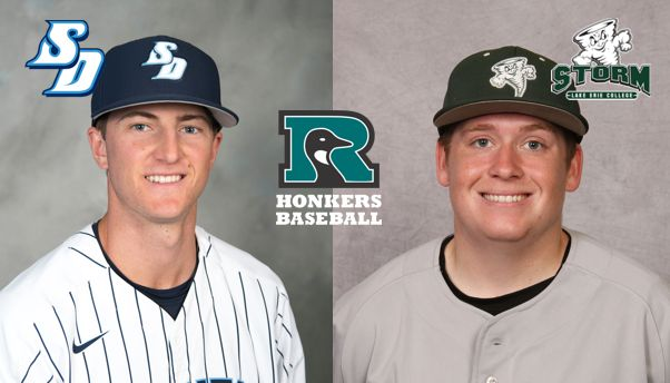 Rochester Honkers Signees Nigel Ward and David Lemasters