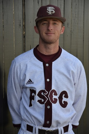 Outfielder Ben McConnell at Fort Scott Community College