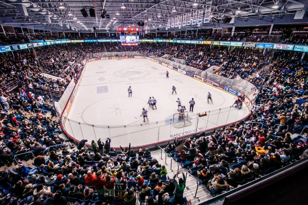 Sleeman Centre, Home of the Guelph Storm