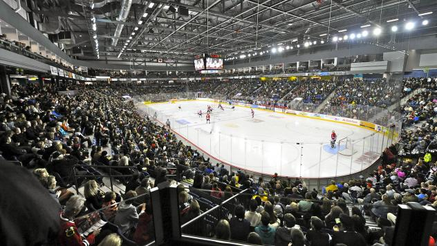 Meridian Centre, home of the Niagara IceDogs