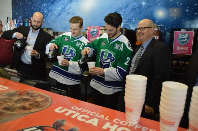 Dunkin' Donuts and the Utica Comets