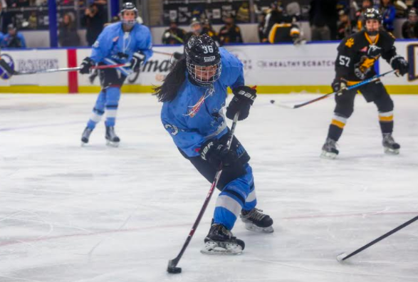 Buffalo Beauts in action