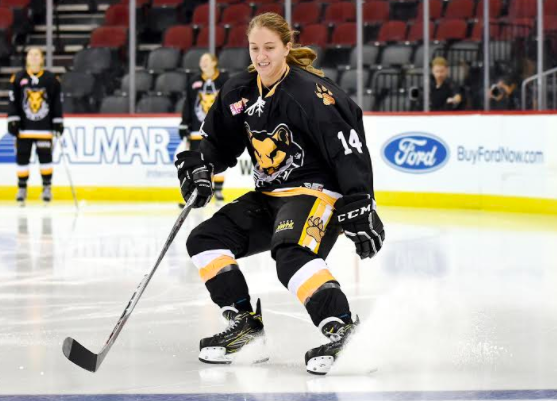 Boston Pride Forward Jillian Dempsey