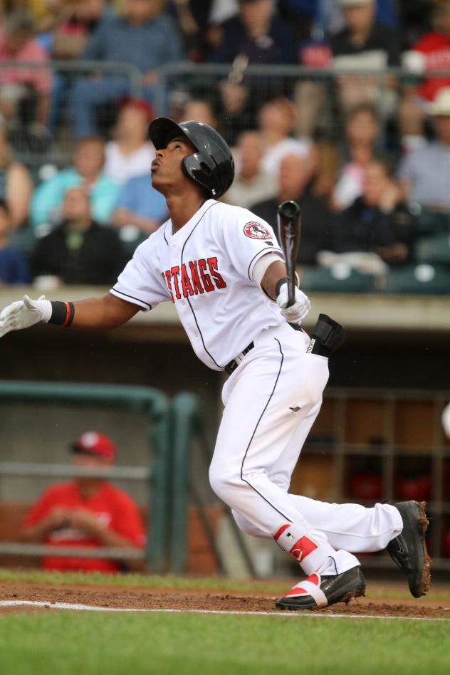 Shortstop Jeter Downs with the Billings Mustangs