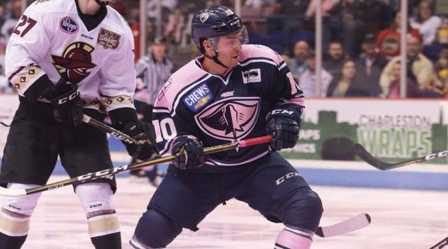 Steven Whitney of the South Carolina Stingrays