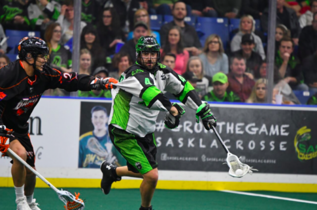Saskatchewan Rush vs. the Buffalo Bandits