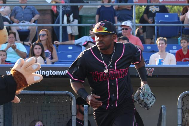 Washington Wild Things Outfielder James Harris on the move