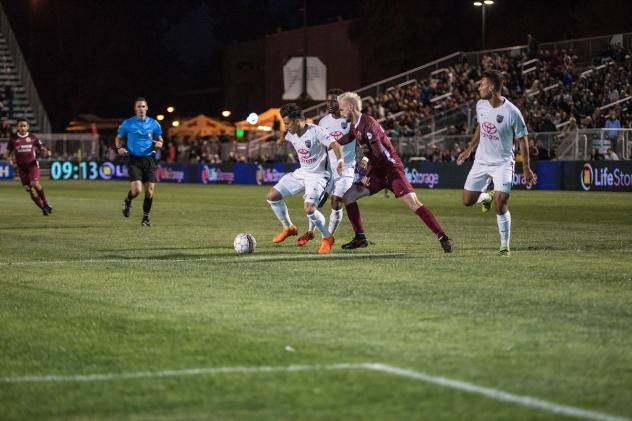 Sacramento Republic FC defends vs. San Antonio FC
