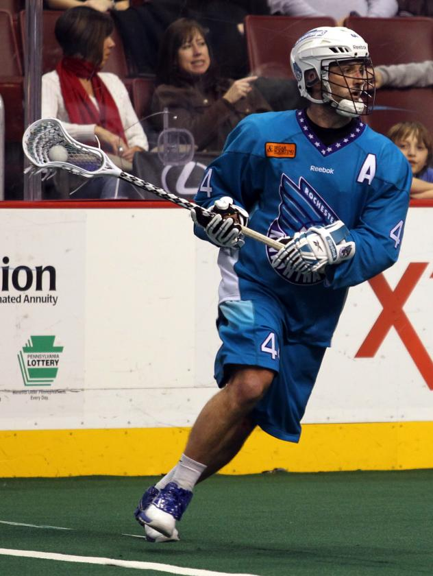 Rochester Knighthawks Hall of Fame Inductee Mike Accursi