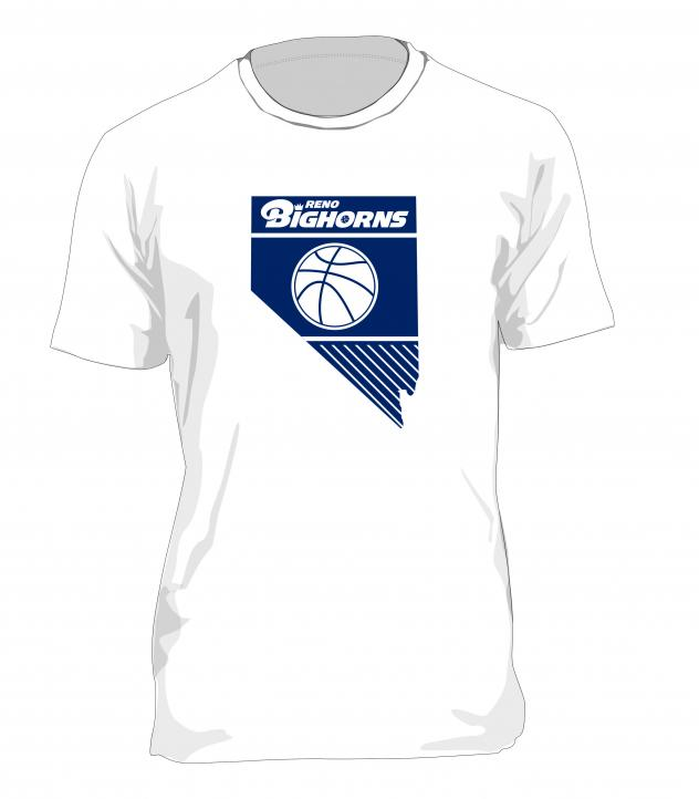 Reno Bighorns Whiteout shirt