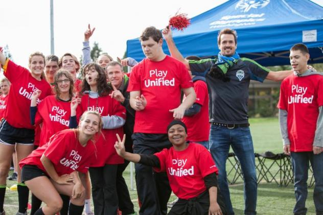 Sounders FC Celebrates 2018 Special Olympics USA Games