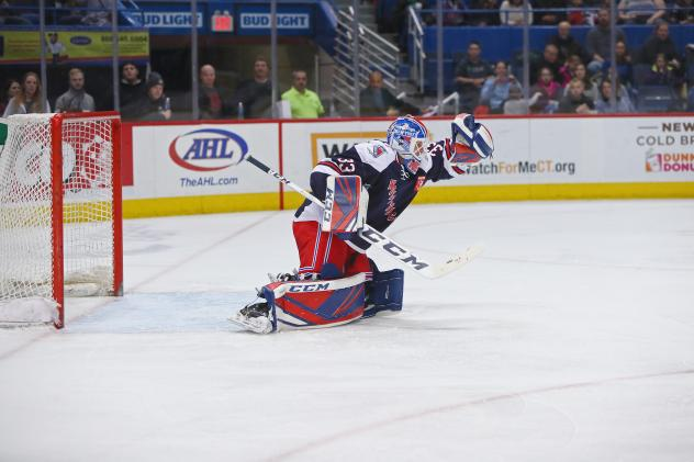 Hartford Wolf Pack Goaltender Chris Nell