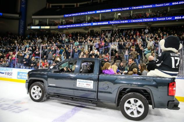 Fans at a Jacksonville IceMen game