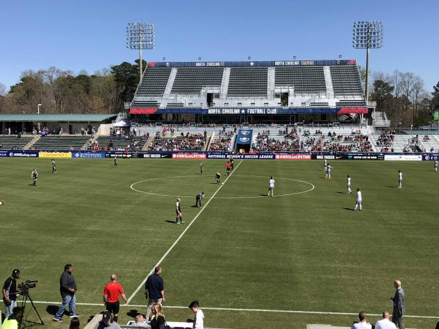North Carolina Courage in action