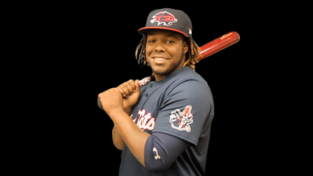 Vladimir Guerrero, Jr. of the New Hampshire Fisher Cats