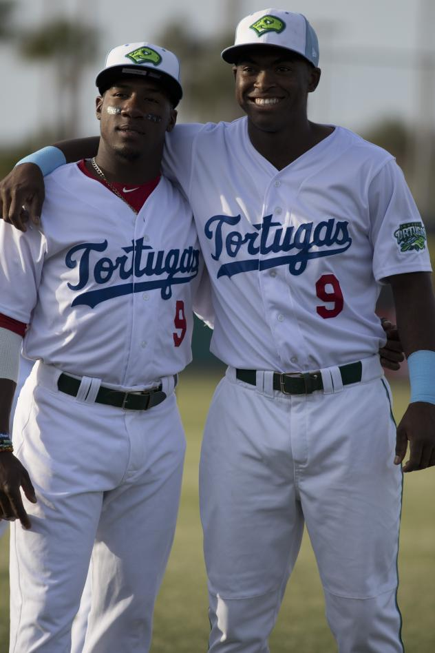Daytona Tortugas sport number 9 jerseys for Jackie Robinson Day
