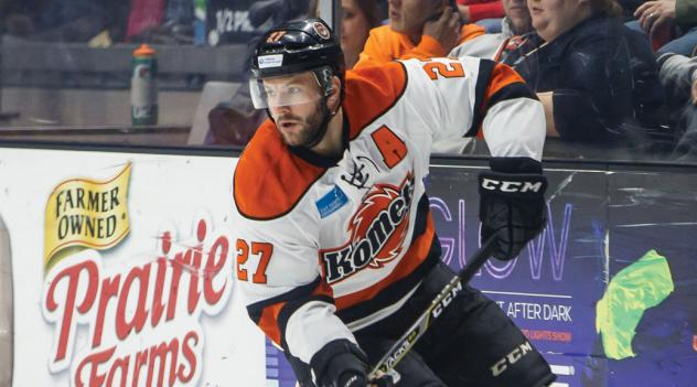 Shawn Szydlowski of the Fort Wayne Komets
