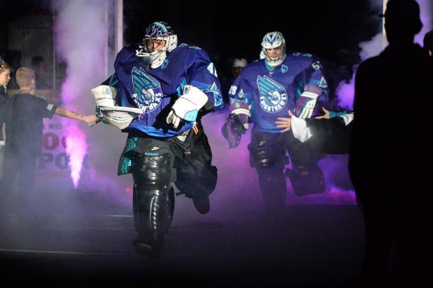 Rochester Knighthawks enter the field