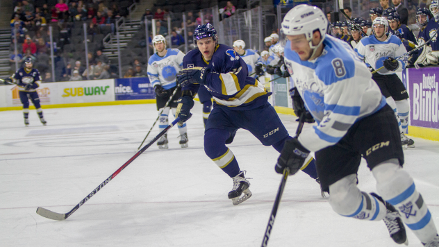 Sioux Falls Stampede vs. the Lincoln Stars
