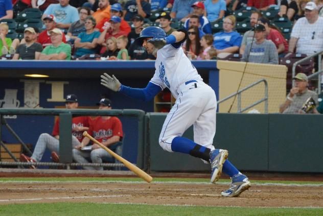 Paulo Orlando with the Omaha Storm Chasers