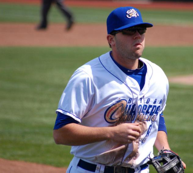 Mike Moustakas with the Omaha Storm Chasers
