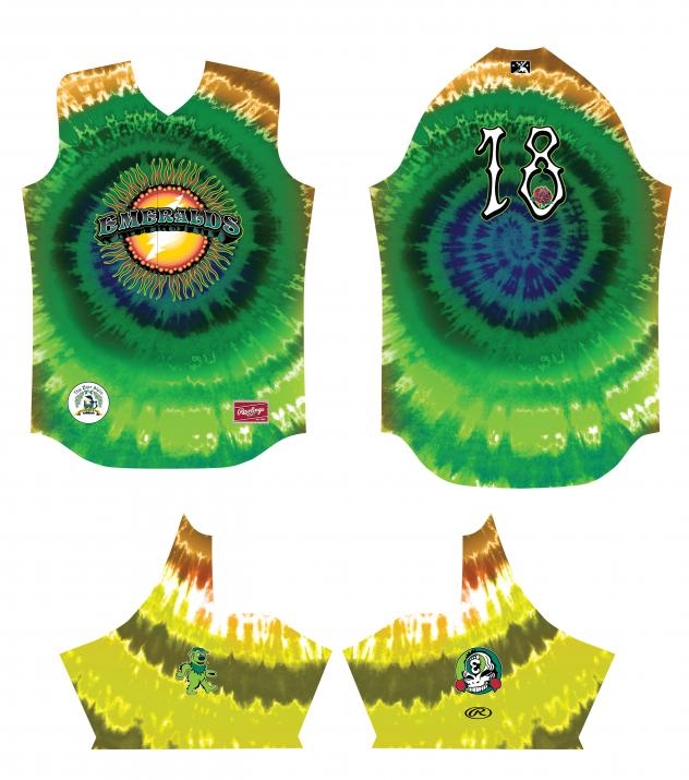 Eugene Emerald Grateful Dead jerseys